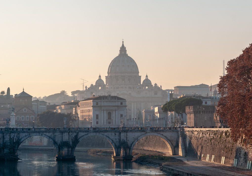konferens Rom - Rom sunset